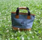 Текстильная маленькая сумка