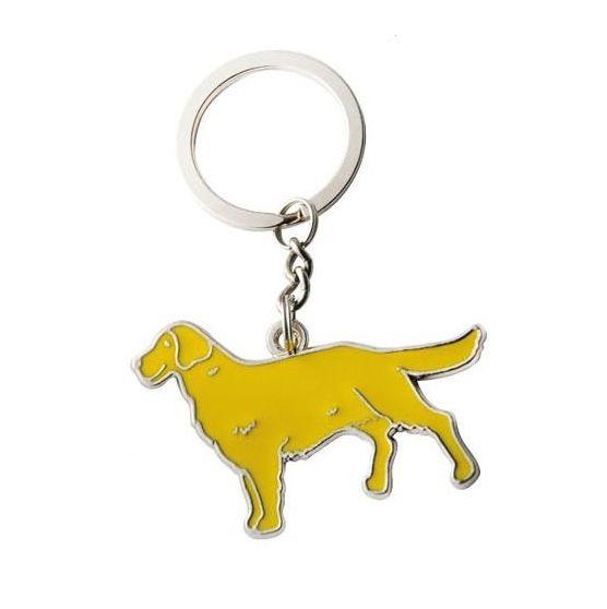 "Брелок ""Wonderful Life With Dog"" - Golden Retriever"