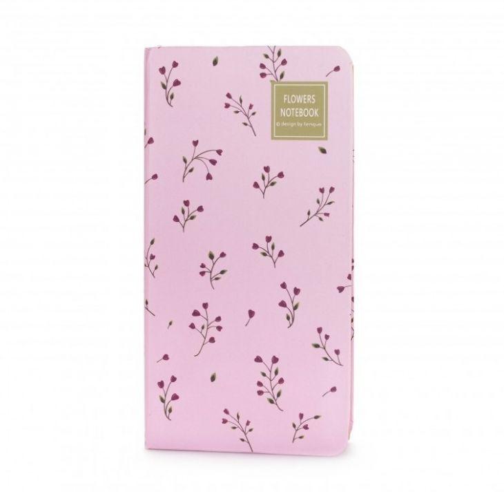 Блокнот «Flowers Notebook» - Pink