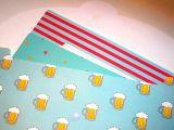Папка для бумаг с пивом
