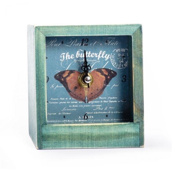 Настольные часы «Butterfly» - Brown