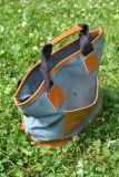Оригинальная сумка с короткими ручками