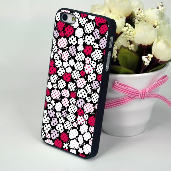 "Панель для iPhone 4, 4S ""Dot Print"""