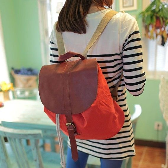 "Рюкзак ""Holiday Backpack"" - Orange-red"