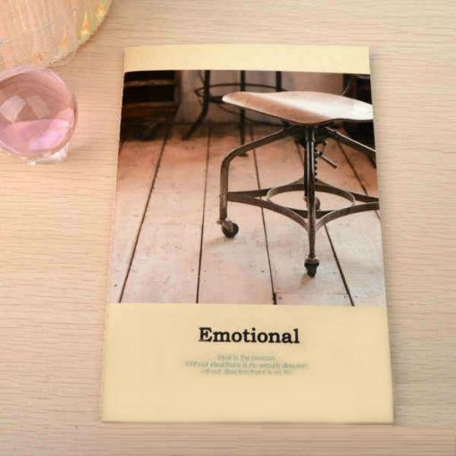 """Тетрадь """"Emotional"""" - Chair"""