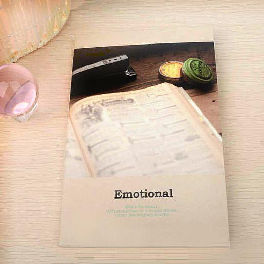 "Тетрадь ""Emotional"" - Register"