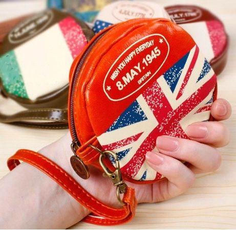 """Кошелек для мелочи """"Round Flag"""" - Britain"""