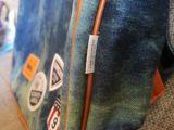 Джинсовый рюкзак в стиле ретро