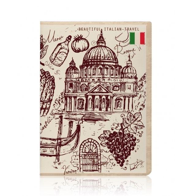 """Обложка для паспорта Miusli """"Italy"""""""