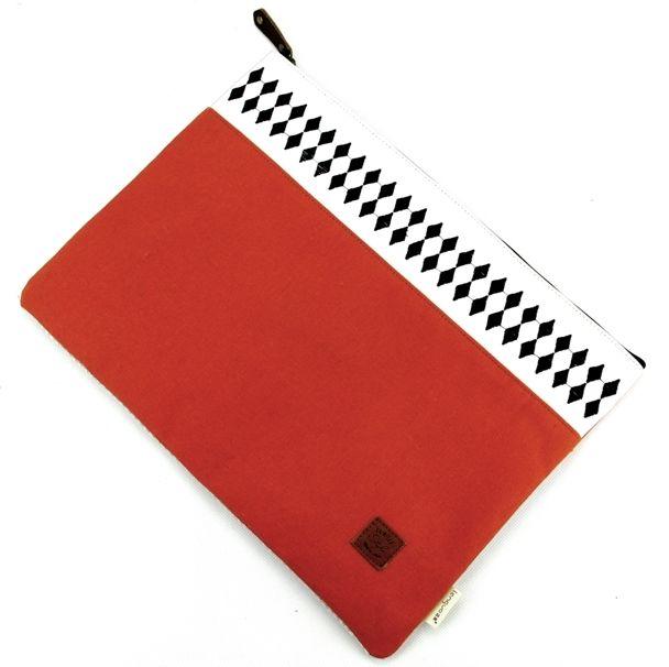 """Папка """"Fair Isle Print"""" - Red"""