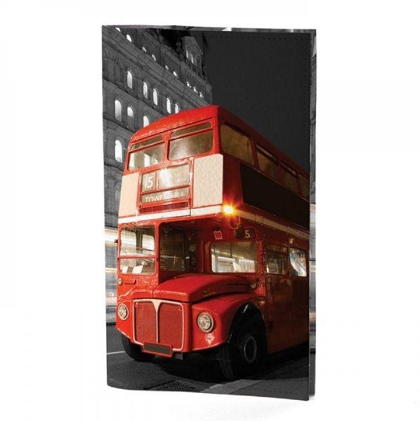 """Портмоне для документов """"London Bus"""""""