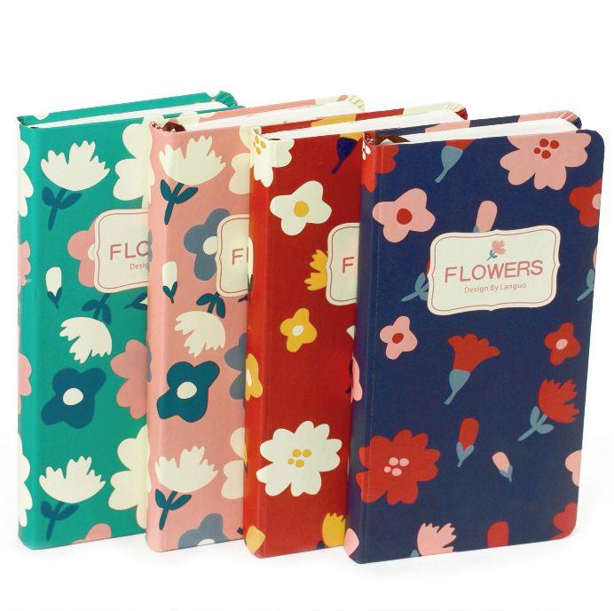 """Записная книжка """"Flowers"""" (разные цвета)"""