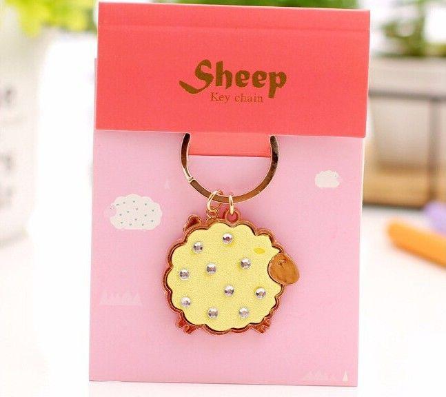 Брелок для ключей «Sheep» - Yellow