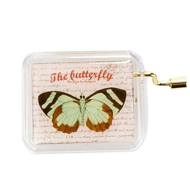Музыкальная коробочка «Butterfly» - Brown