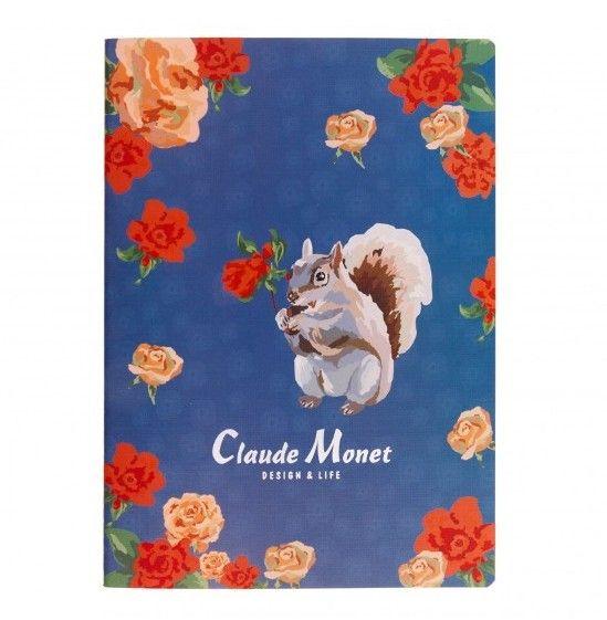 Тетрадь Б5  «Claude Monet» - Indigo
